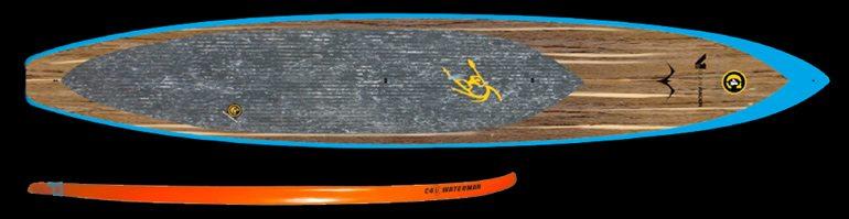 C4 V1 Open ocean racing SUP