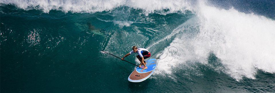 Mistral sup surfing