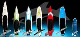 The 2013 Jimmy Lewis SUP range of boards