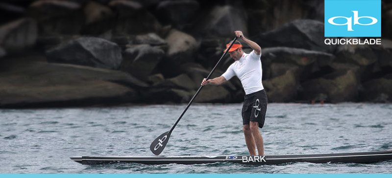 Quickblade and Bark SUP racing