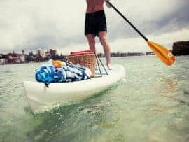 Touring and adventure standup paddleboarding
