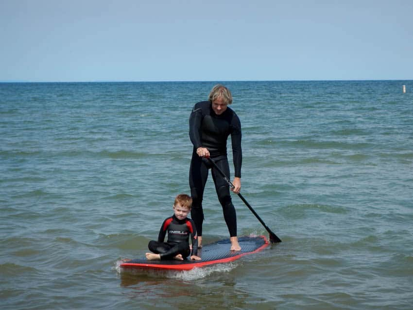 Jimmy Lewis Striker with family sup