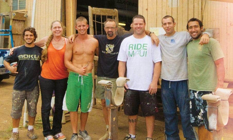 The team at SiC Maui