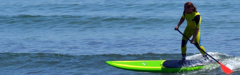 SUP lessons with Surfs SUP