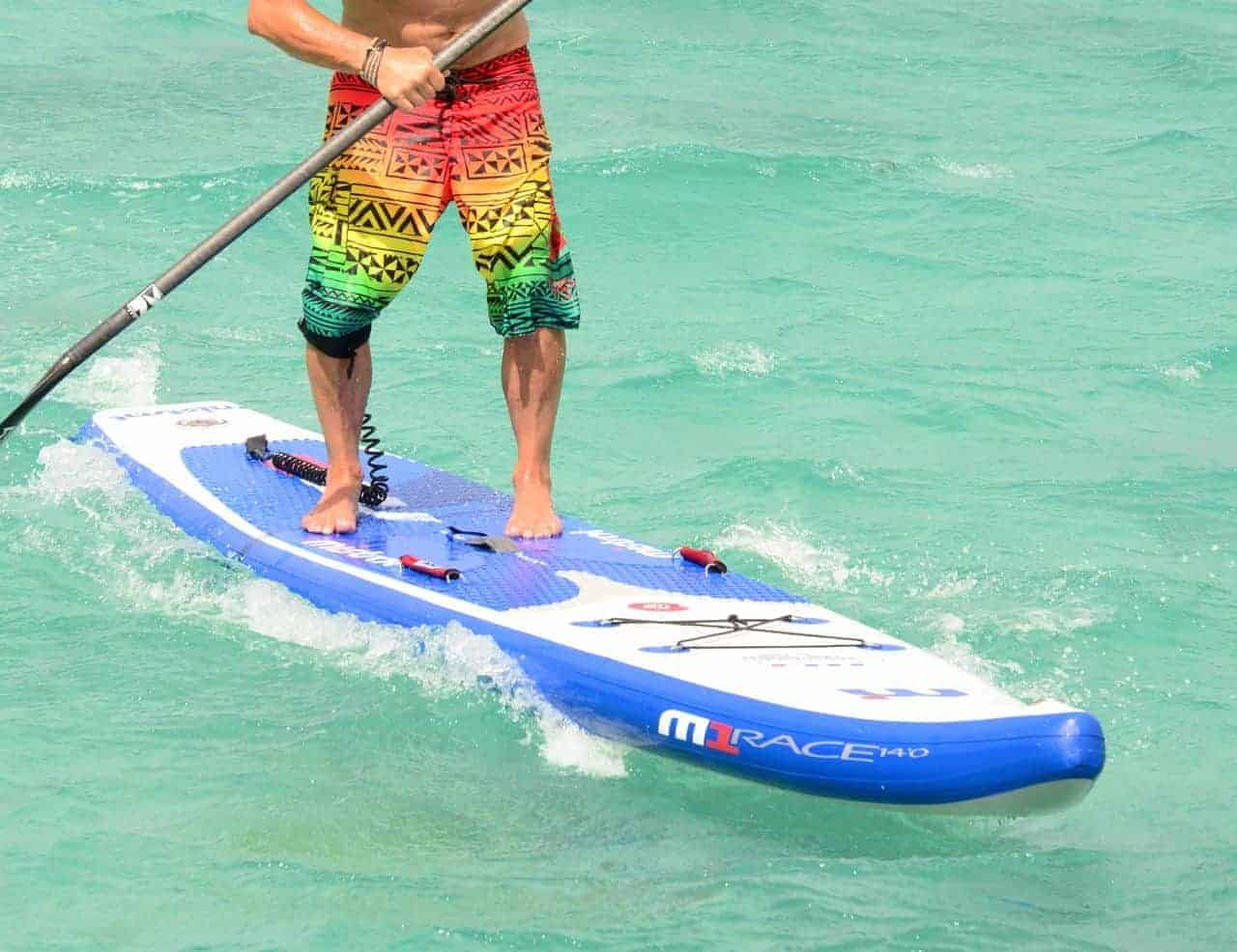 Steve West chooses Mistral inflatable sup isup paddleboards as his