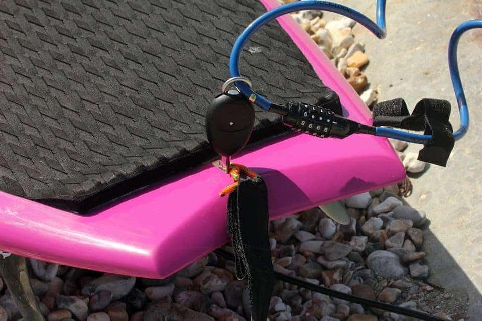 Paddle Board Lock And Surf Board Lock