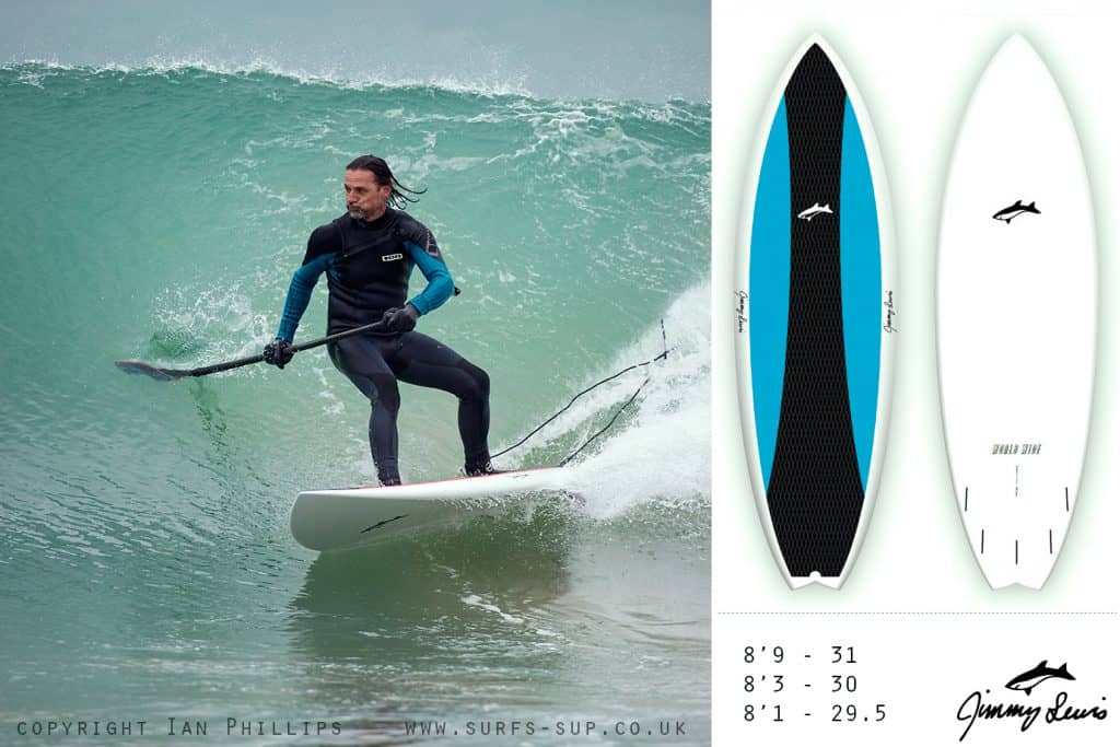 Tony Peters rides for Jimmy Lewis UK on the Worldwide 8'1