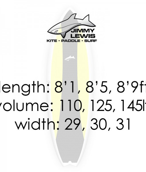 Jimmy Lewis Worldwide SUP specifications