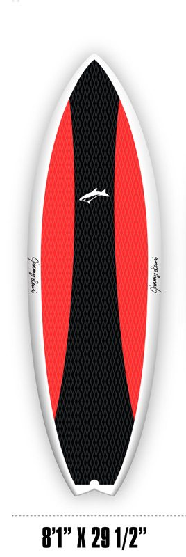jimy lewis worldwide sup 8'1