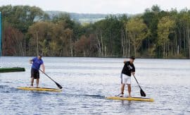 Aqua Sports SUP traiing day