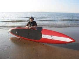 SUP in Scotland with Steve Williams
