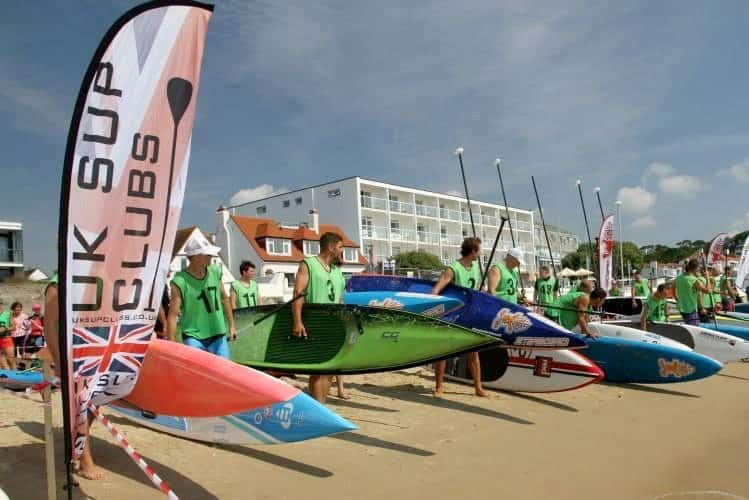 UK SUP Clubs race scene