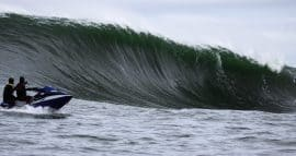 Big wave surfing Prowlers Ireland