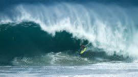 puerto escondido big wave surfing