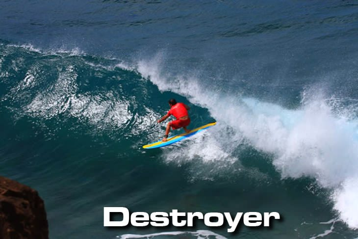 Jimmy Lewis Destroyer surfboards