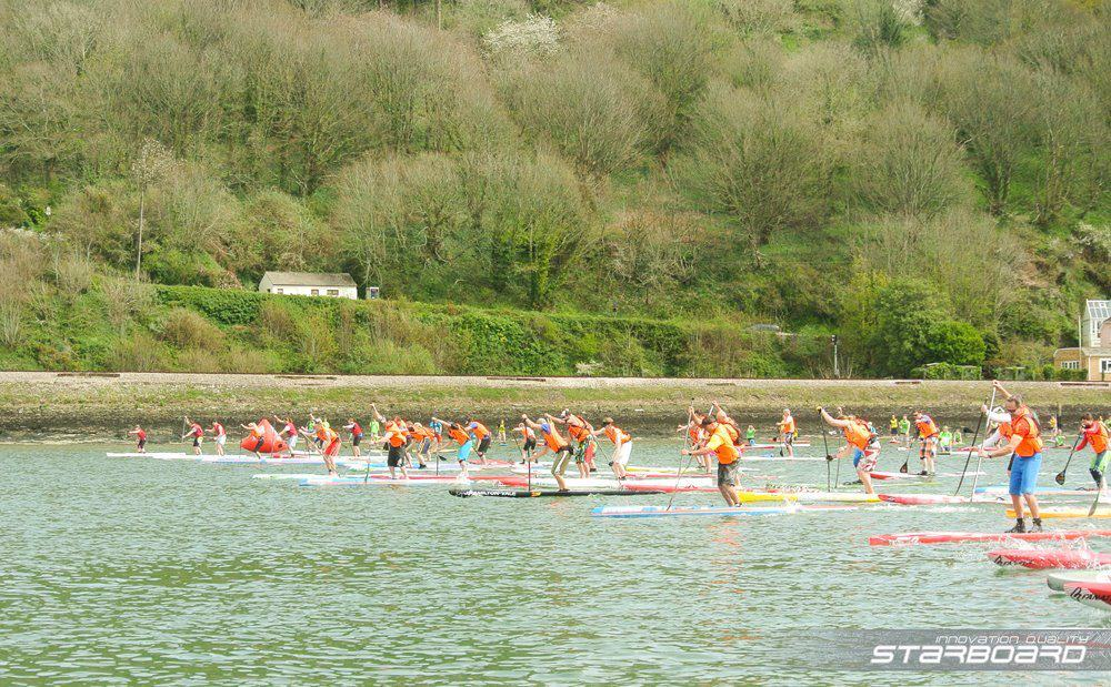 Head of teh Dart SUP Race 2016