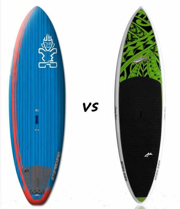 Starboard Pro versus Jimmy Lewis Stun Gun