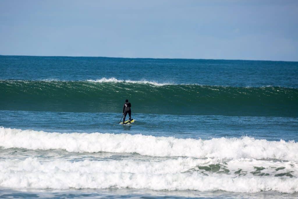 Sup surfing at Kilcummin Brandon Bay
