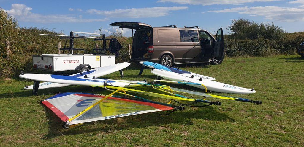 Windsurfing lessons run in Bracklesham, Chichcester harbour, Hayling Island CALL - 07521 297280