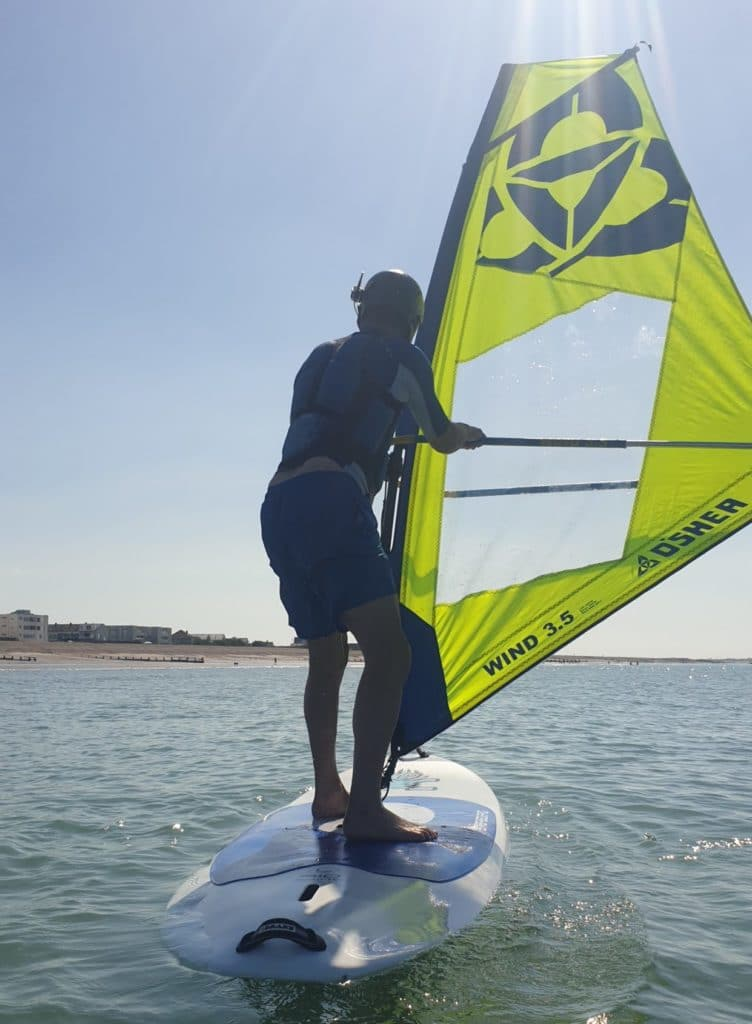 Windsurfing lessons in Hayling Island CALL - 07521 297280