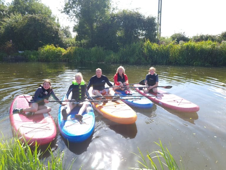 sup lessons in chichester canal with Surfs SUP Watersports. CALL - 07521 297280